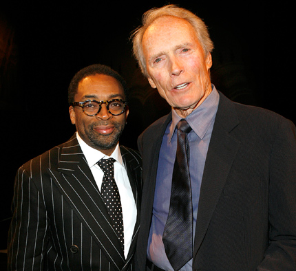 Spike Lee and Clint Eastwood