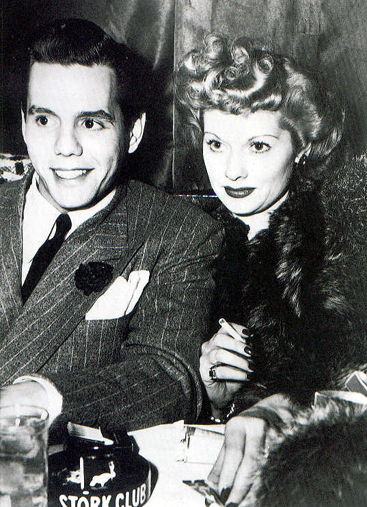 Lucille and Desi met in May of 1940 in a Hollywood studio commissary while