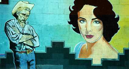 When asked what attracted him gable said she makes no for Audrey hepburn mural los angeles