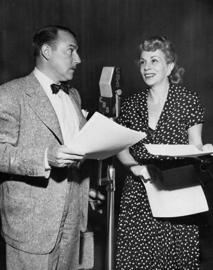 Gale Gordon and Bea Benaderet