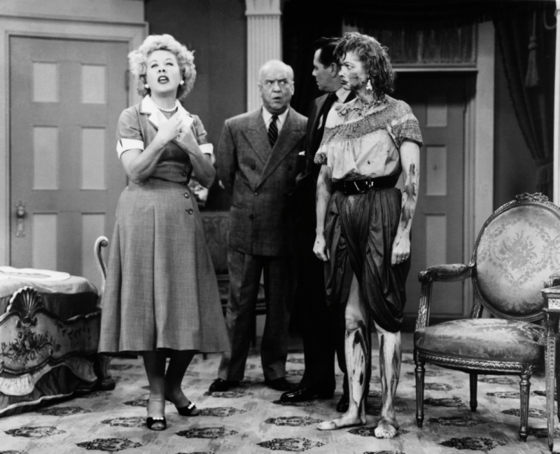 I Love Lucy Cast: Vivian Vance, William Frawley, Desi Arnaz, and Lucille Ball