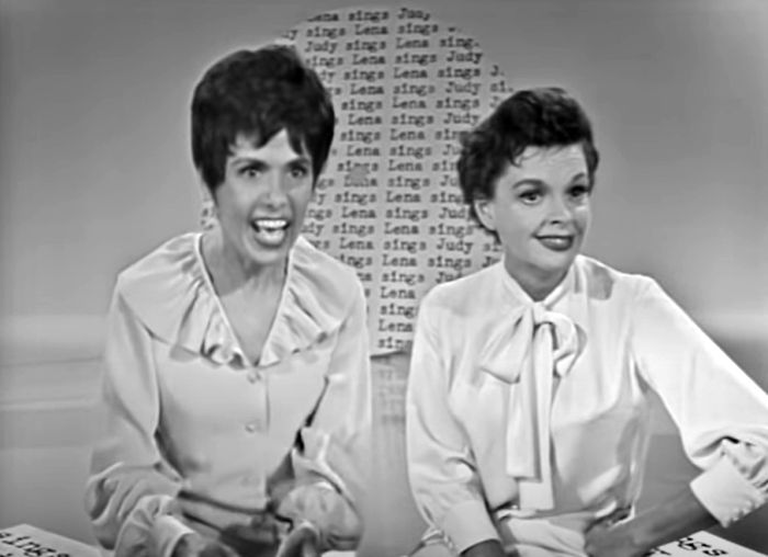 Lena Horne and Judy Garland, The Judy Garland Show, 1963