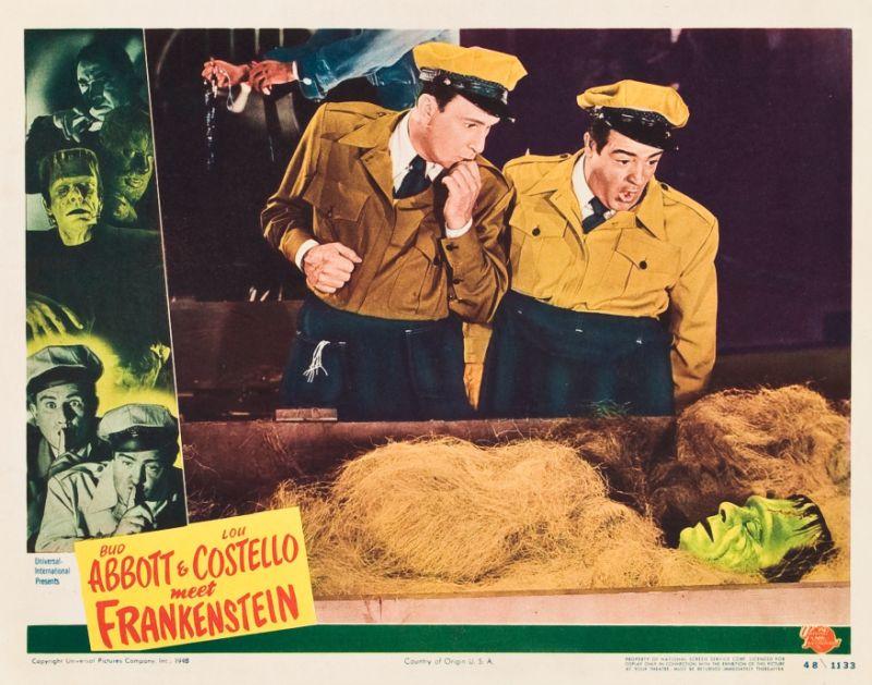 Abbott and Costello Meet Frankenstein Lobby Card