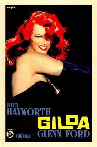 Rita Hayworth Gilda Poster