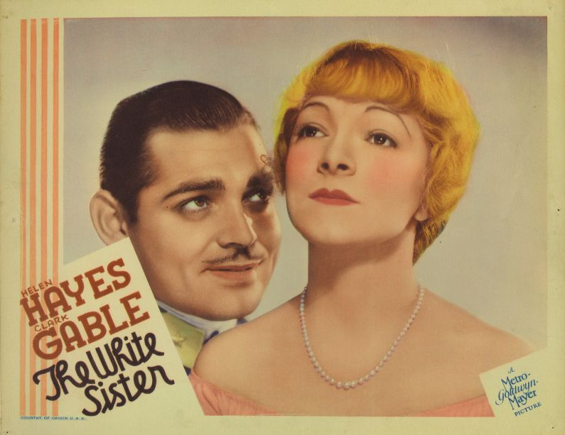 Helen Hayes and Clark Gable, The White Sister