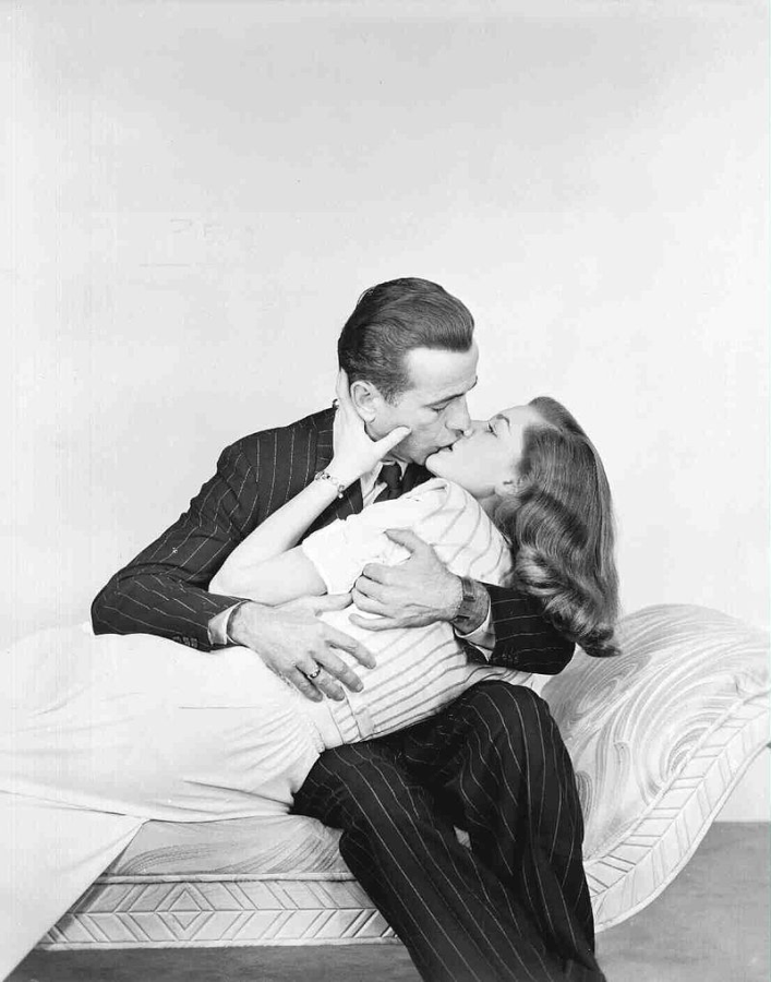 Bogart and Bacall Publicity Photo for The Big Sleep