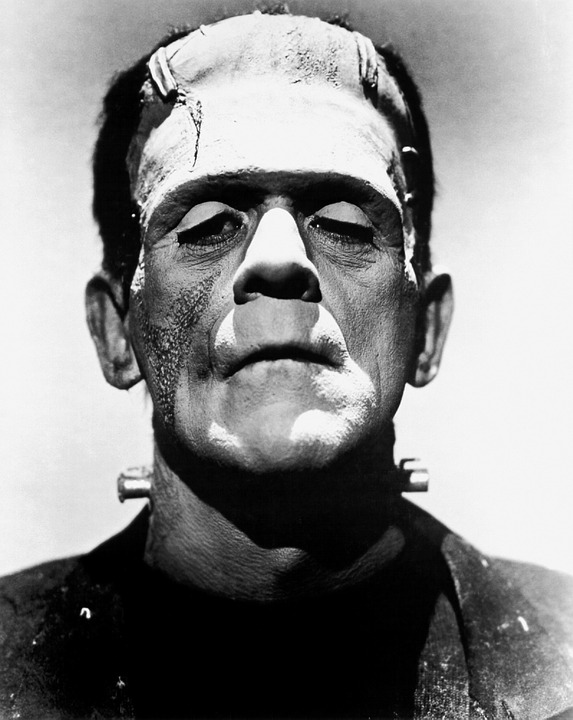 Boris Karloff as the Monster in Frankenstein