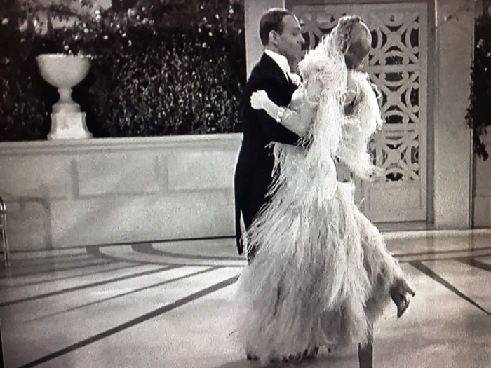 Ginger Rogers and Fred Astaire Top Hat Cheek to Cheek