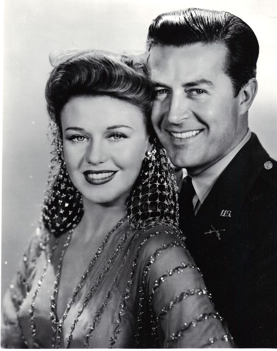 Ginger Rogers and Ray Milland Publicity Photo for The Major and the Minor