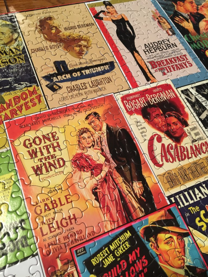 Old Movie Posters Jigsaw Puzzle