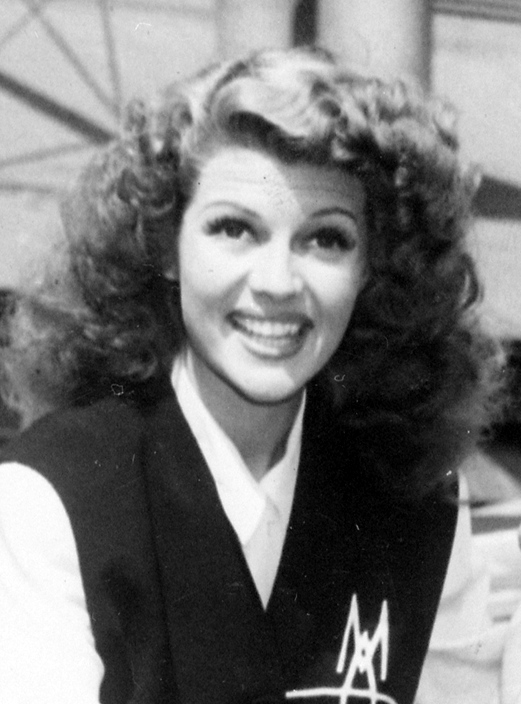 Rita Hayworth, 1942