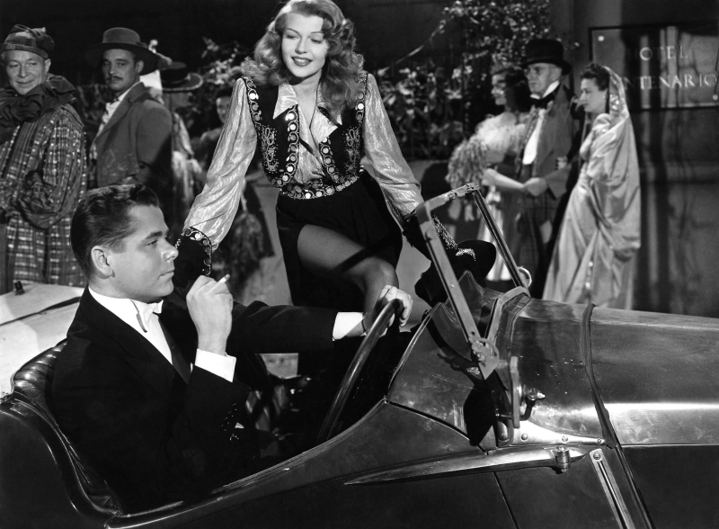 Gilda - Publicity still, Rita Hayworth and Glenn Ford