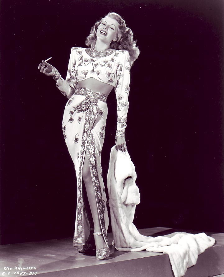 Rita Hayworth, Gilda Promo Shot