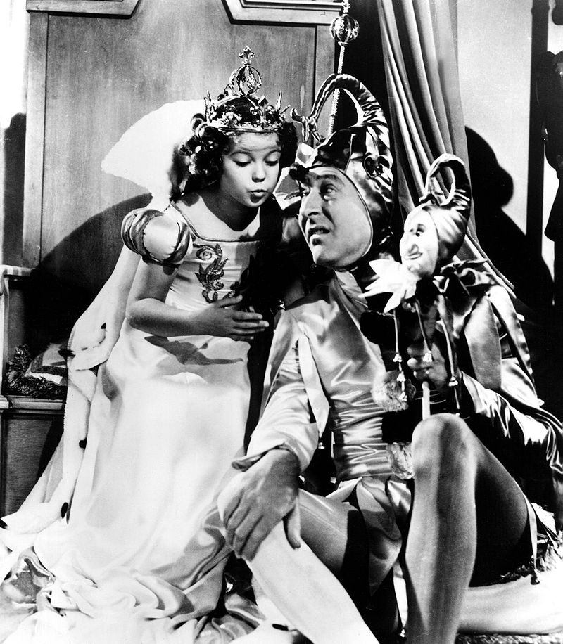 Shirley Temple and Arthur Treacher in The Little Princess