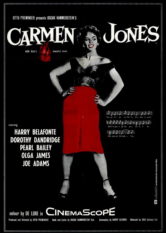 Dorothy Dandridge Carmen Jones Poster