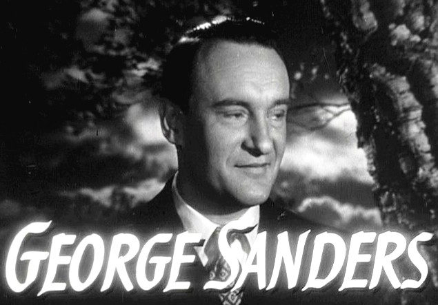 George Sanders in The Ghost and Mrs Muir