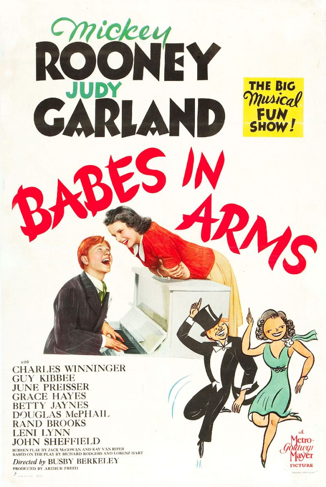 Babes in Arms Movie Poster