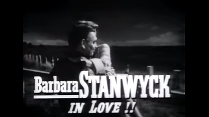 To Please a Lady, starring Barbara Stanwyck