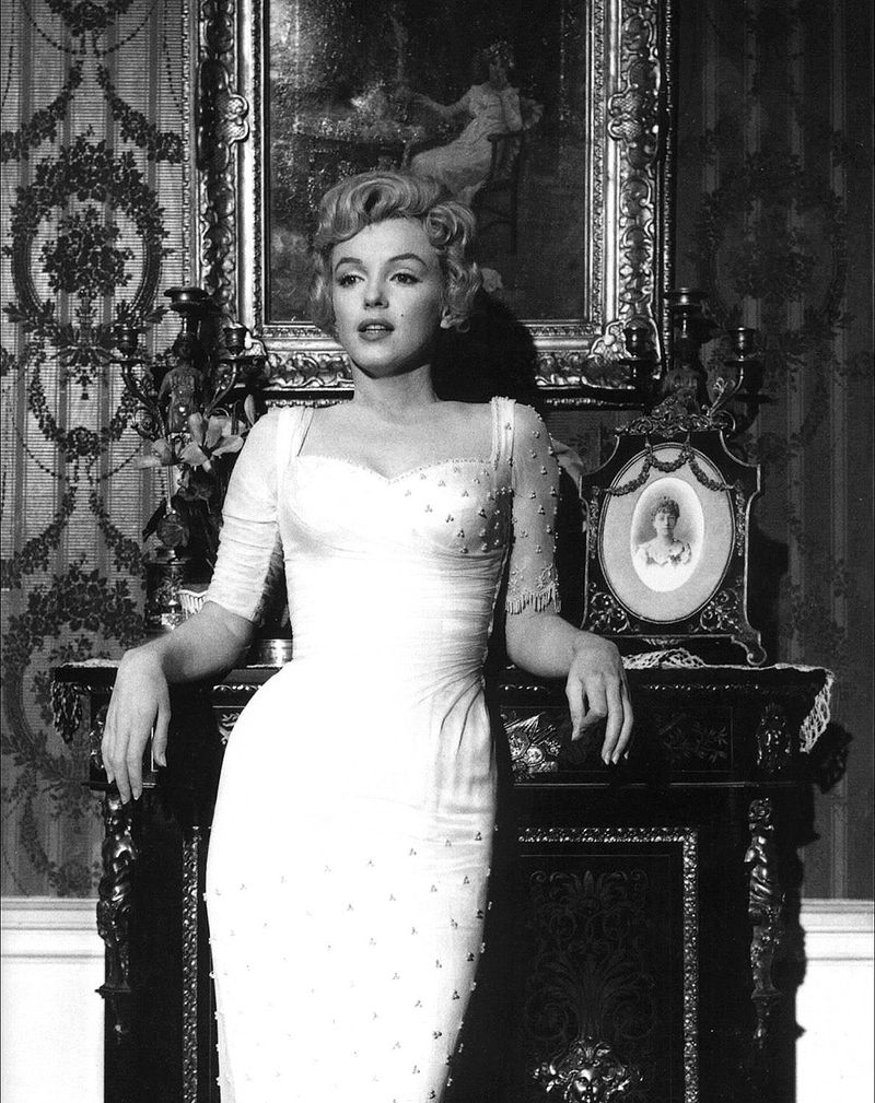 Marilyn Monroe Promotional Pic for The Prince and the Showgirl