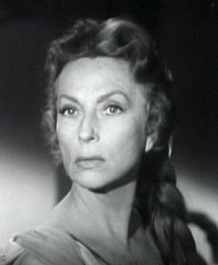 "Agnes Moorehead in ""The Bat"""