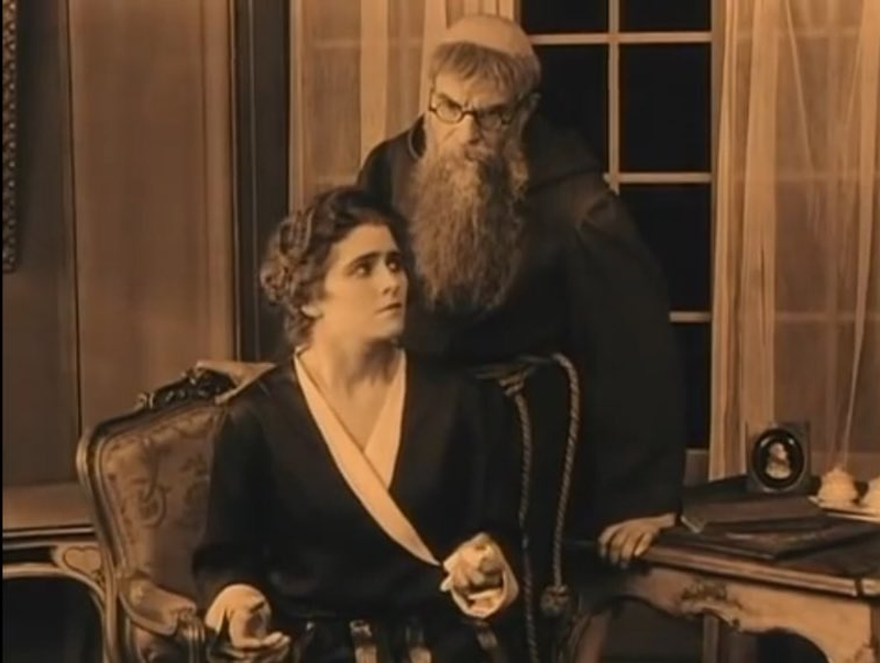 The Haunted Castle, 1921 Silent Movie
