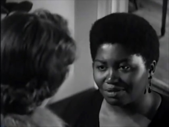 Odetta and Lee Remick in Sanctuary