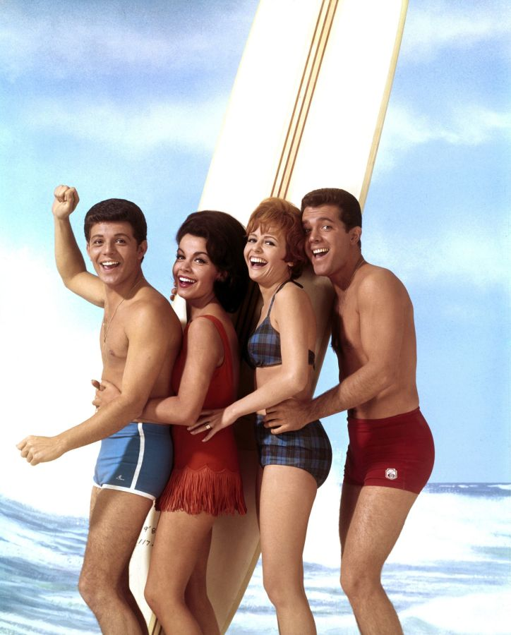 Frankie Avalon, Annette Funicello, Deborah Walley, and John Ashley - Beach Blanket Bingo