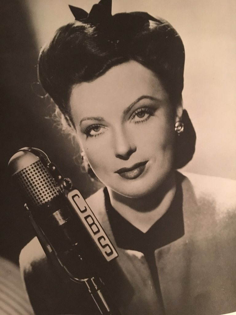 Agnes Moorehead, Old Time Radio