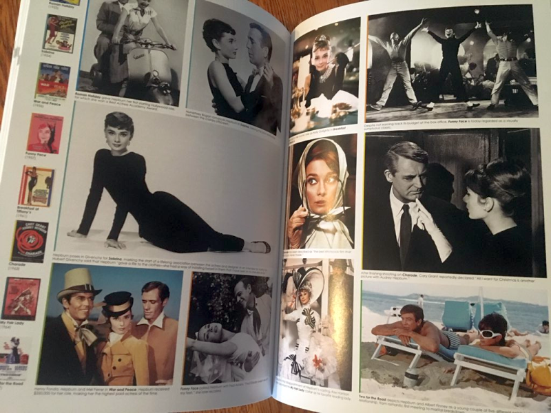 Audrey Hepburn Pages in Movie Star Chronicles: A Visual History of the World's Greatest Movie Stars