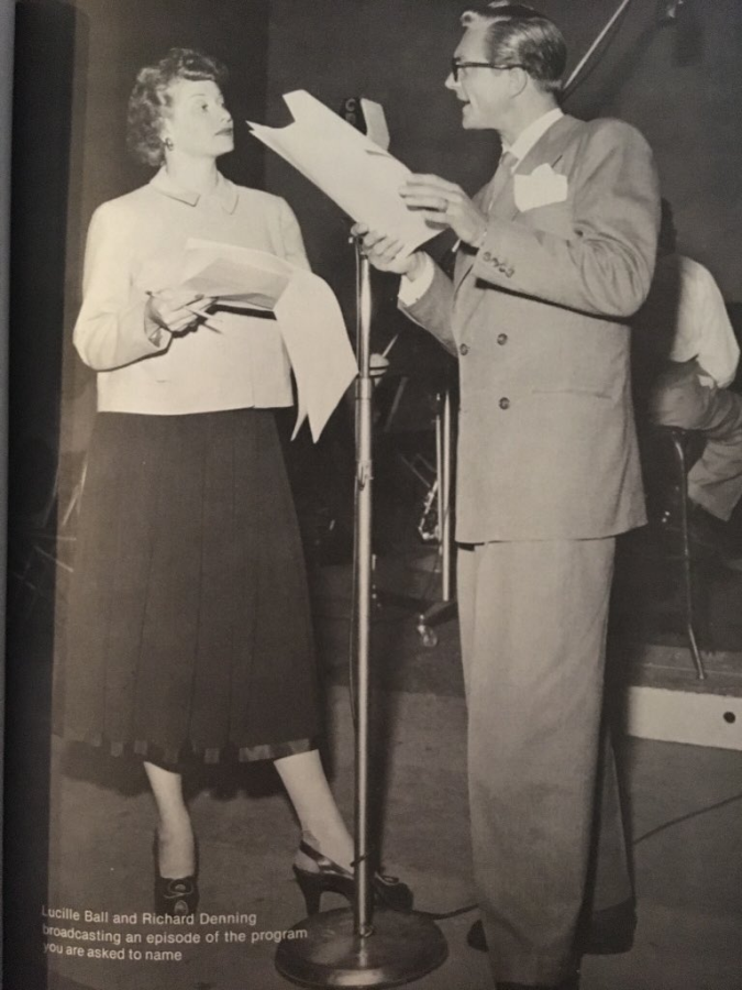Lucille Ball and Richard Denning Radio