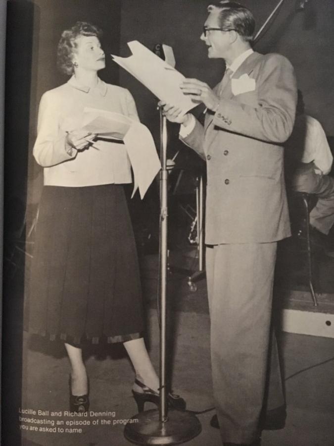 Lucille Ball and Richard Denning Radio