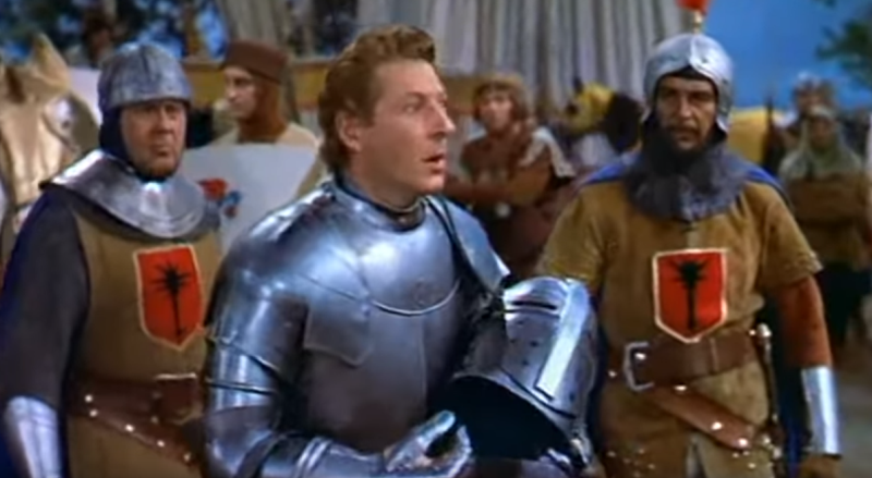 Danny Kaye in The Court Jester