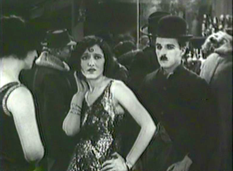 Georgia Hale and Charlie Chaplin