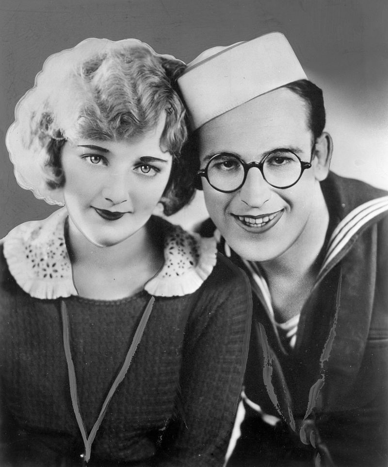 Harold Lloyd and Mildred Davis, Promotional Photo for A Sailor Made Man