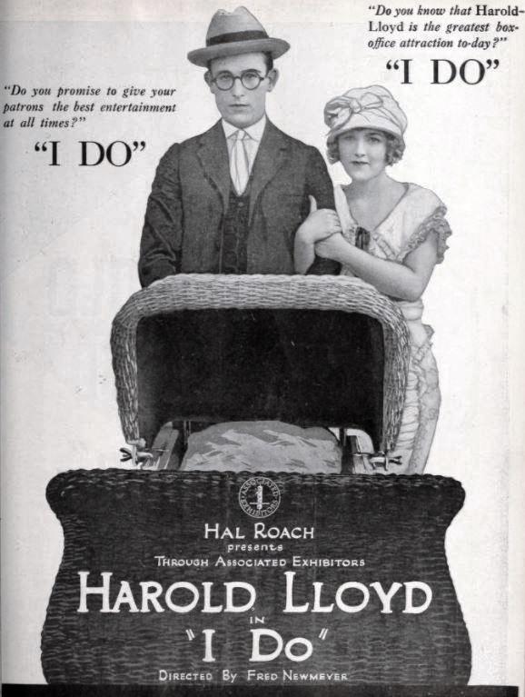 Harold Lloyd and Mildred Davis I Do