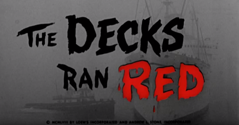 The Decks Ran Red