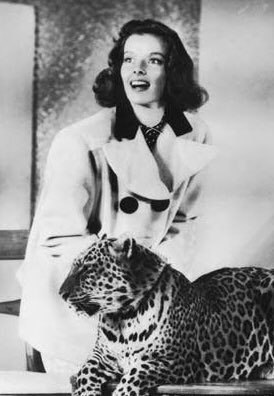 Katharine Hepburn Bringing Up Baby Promo Pic