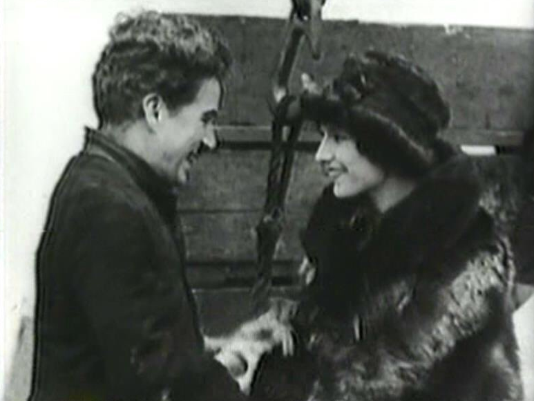 Georgia Hale and Charlie Chaplin The Gold Rush
