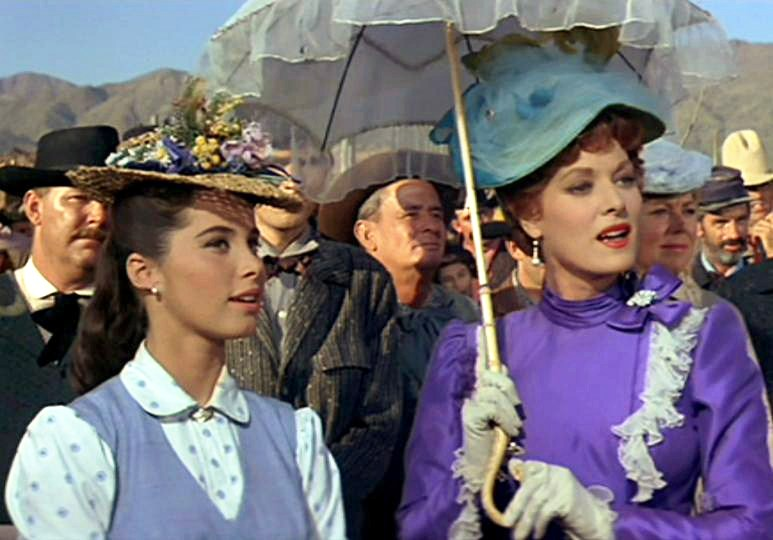 Stefanie Powers and Maureen O'Hara McLintock