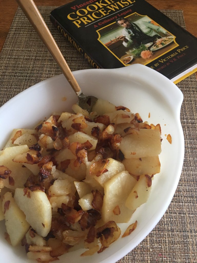 Vincent Price Cooking Price-Wise Cookbook and Potatoes