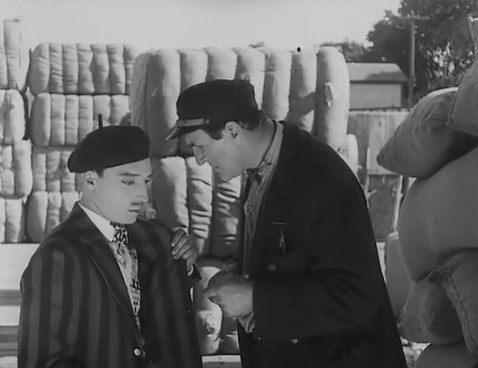 Buster Keaton and Ernest Torrence Steamboat Bill, Jr.