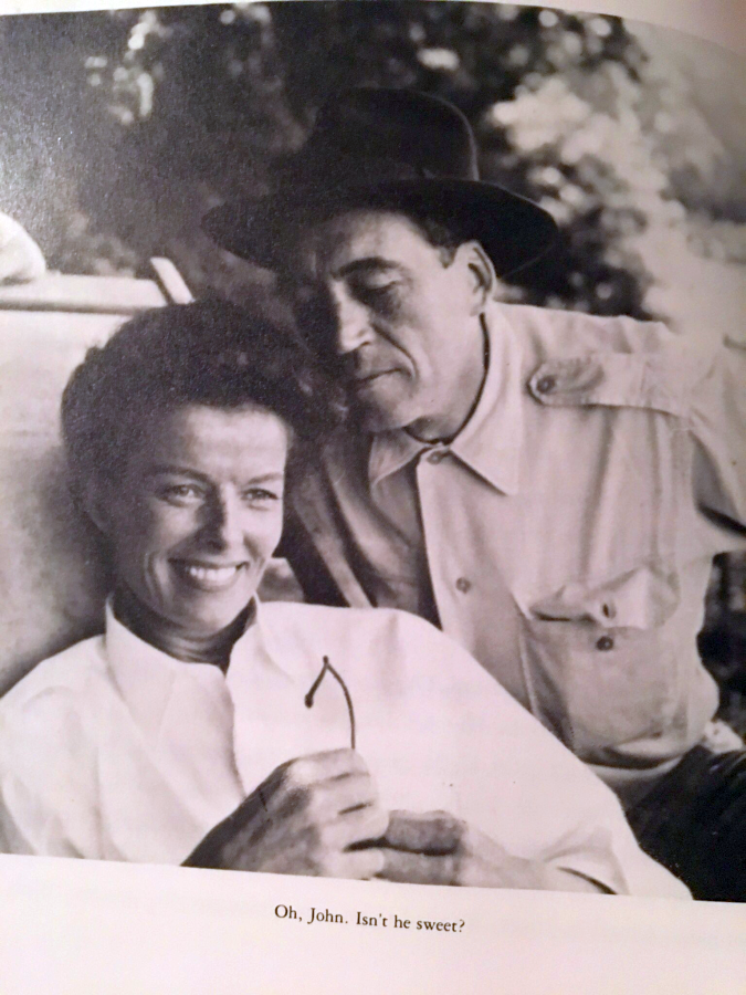 Katharine Hepburn and John Huston The Making of the Aftican Queen