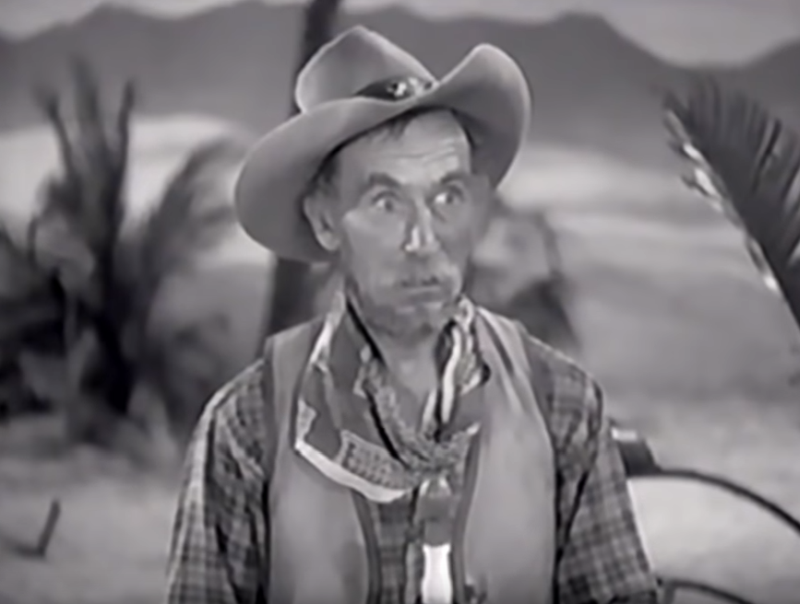 Andy Clyde as California Carlson