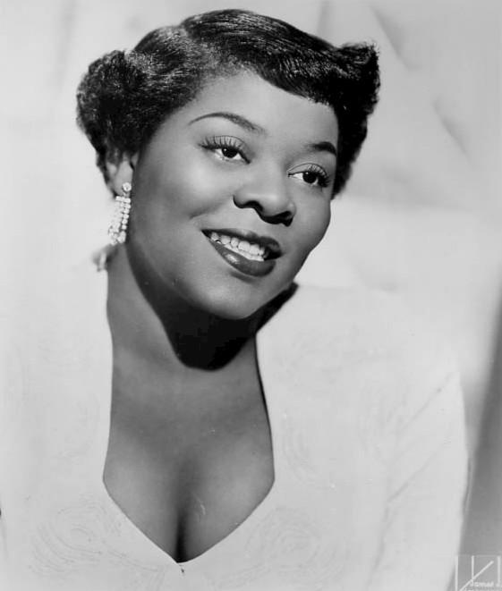 Dinah Washington 1952 (Photographer: James Kriegsman)