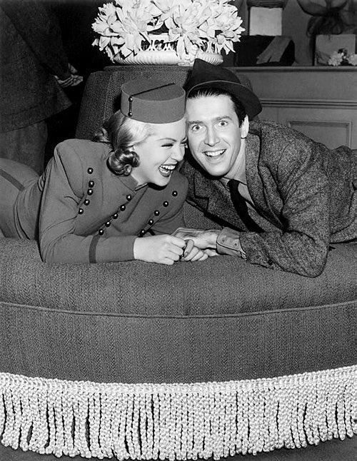 Lana Turner and James Stewart Ziegfeld Girl