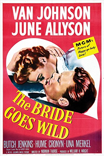 The Bride Goes Wild Movie Poster
