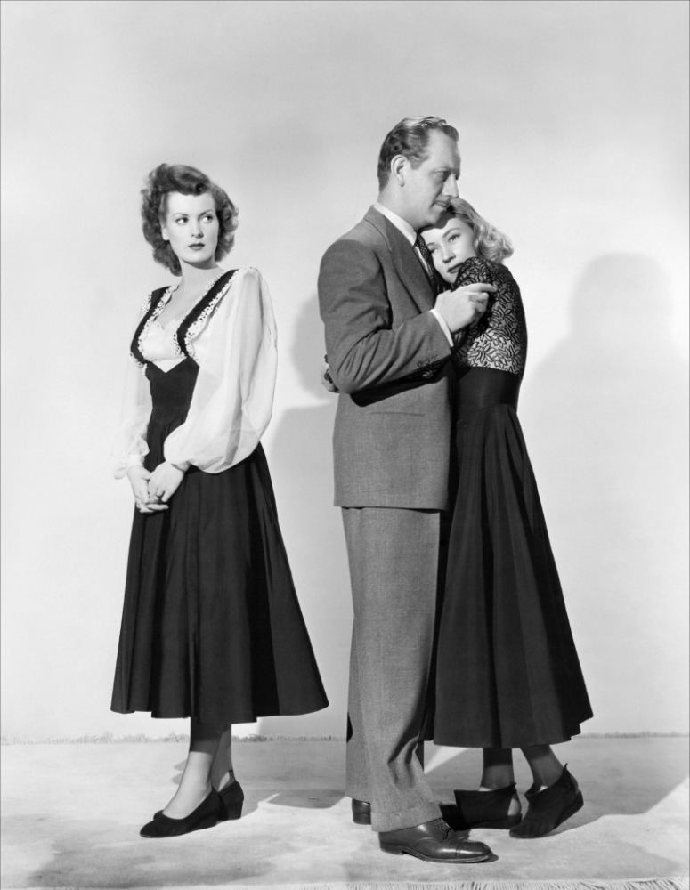 A Woman's Secret - Maureen O'Hara, Melvyn Douglas and Gloria Grahame