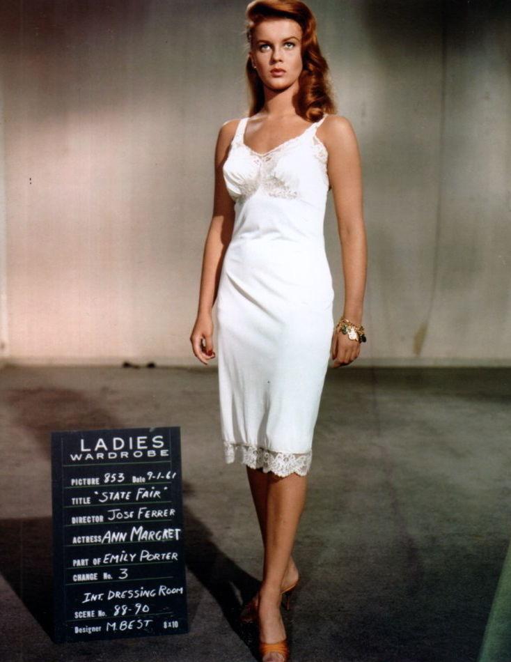 Ann-Margret, State Fair Wardrobe Test