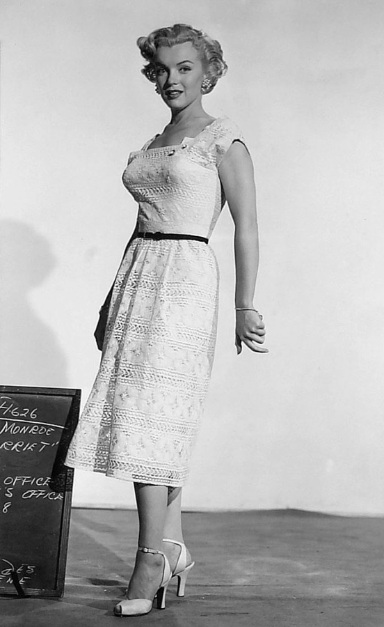 Marilyn Monroe, As Young as You Feel Wardrobe Test