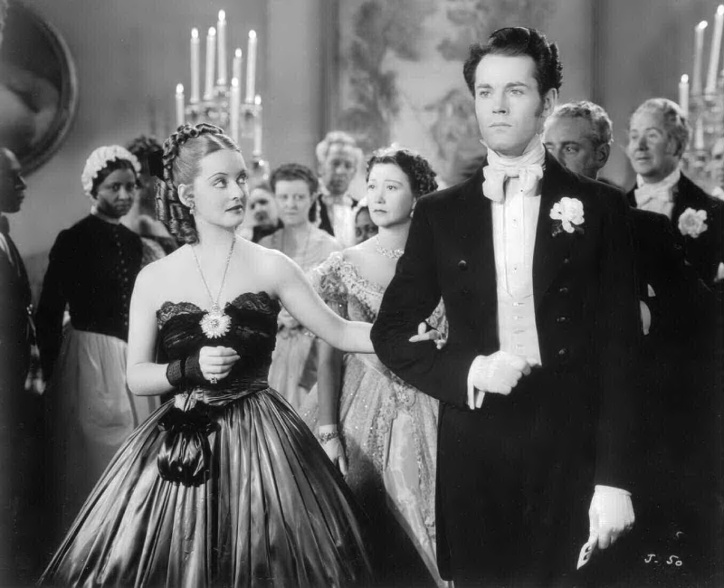 Bette Davis and Henry Fonda in Jezebel